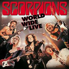 SCORPIONS WORLD WIDE LIVE 180 GRAM VINYL 2LP + CD ALBUM SET (November 6th 2015)