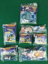 IL CASTELLO DI WIZARDS OF MICKEY ,  6 pezzi sigillati Gadget TOPOLINO Serie cpl
