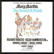 The Sound of Music CD/ ORIGINAL BROADWAY CAST Mary Martin  ) SEALED GIFT QUALITY