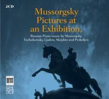 Mussorgsky, Pictures at an Exhibition - Russian Piano Music (Berlin Classi (OVP)