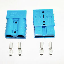 Battery Blue Quick Connect Disconnect Plug 50A 8AWG Winch Trailer Boat Connect