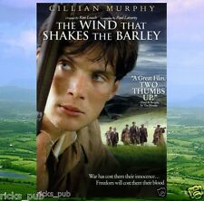 The Wind That Shakes the Barley movie DVD ● Ireland's Independence ●R1 Plays USA
