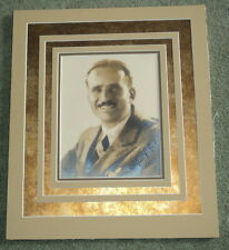 ORIG. PHOTO SIGNED by Movie Star DOUGLAS FAIRBANKS - PHOTO by MELBOURNE SPURR
