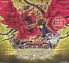 YUGIOH CROSSROADS OF CHAOS SPECIAL EDITION BOX BLOWOUT CARDS
