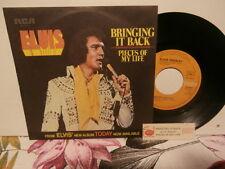 "elvis presley""bringing it back""single7""Fra.rca:pb10401 de 1975 + encart juke-box"