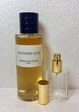 LEATHER OUD by Christian Dior 30 ML,1 fl.oz Sample in Glass Atomizer,EDP.