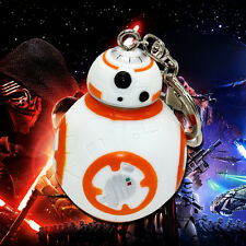 Robot 3D BB-8 Model Keychain Keyring Star Wars Episode 7 Force Awakens