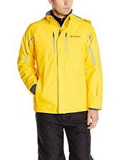 Columbia Cubist IV Omni Heat Waterproof Ski Snow Jacket Coat- Bright Yellow M