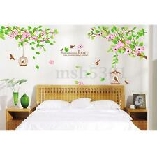 DIY Flower Branch Leaves Removable Decal Wall Sticker Decor Vinly Home Room-US