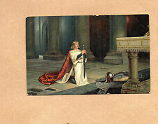 Early 1900's Art Card Misch &Co 1106 The Vigil by John petty  br2