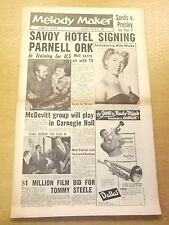 MELODY MAKER 1957 JUNE 1 MINDY CARSON LONNIE DONEGAN JAZZ BIG BAND SWING