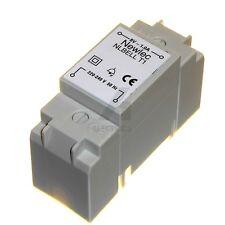 Door bell chime transformer 8 volt 1 amp DIN / surface mount Friedland 8V 1A NEW