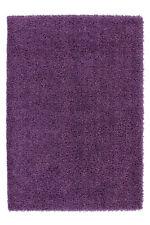 Shaggy À Poils Longs NEUF Tapis Moderne tapis Souple Violet Lilas 140x200