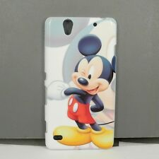 For Sony Xperia C4 Mickey TPU Phone Case Free Screen Protector