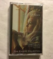 DOLLY PARTON - I BELIEVE -  CASSETTE - NEW - SEALED