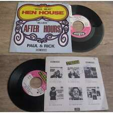 PAUL & RICK - Hen House Rare Only French PS 7' Nothern Soul Beat 69'W/Languette