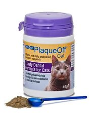 Pro Den Plaque Off Cat, Bad Breath and Tartar Control for Cats 40g