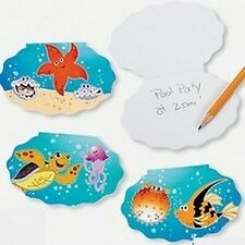Pack of 12 - Tropical Sea Life Paper Notepads - Party Bag Fillers