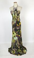 New Authentic Jovani 8189 Multi-colored Halter Women Long Dress Prom Gown 2