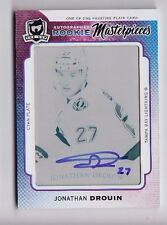2014-15 The Cup Jonathan Drouin Masterpieces Trilogy Printing Plate Auto Rc 1/1