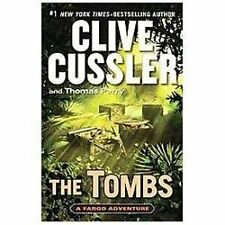 The Tombs Thomas Perry, Clive Cussler (Hardcover) LARGE PRINT*