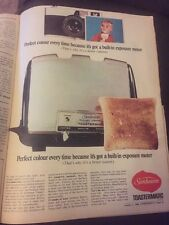 Vintage 1966 Sunbeam Australian Print Advertisement Australiana AD