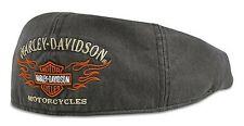 Cappello Ivy Harley-Davidson ® Flame Graphic Grey 99537-11VM Idea Regalo Tg XL