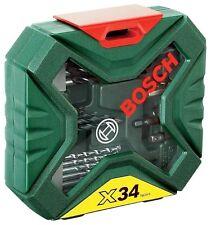 Bosch DIY 34 BIT XLine CLASSIC DRILL Screwdriver Set 2607010608 3165140563147 *