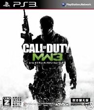Used PS3 Call of Duty: Modern Warfare 3 SONY PLAYSTATION 3 JAPAN JAPANESE IMPORT