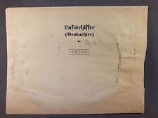 Kuvert für Luftschiffer (Beobachter) 17,5cm x 13,5cm Deutsch 1WK WKI Original