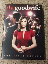 The Good Wife: The First Season (DVD, 2010, 6-Disc Set) with Slip Cover