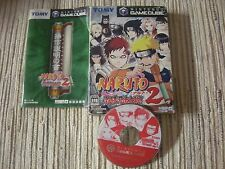 GAMECUBE GAME CUBE NINTENDO NARUTO GEKITOU 2 JAPAN IMPORT USADO BUEN ESTADO