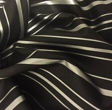 Genuine Lambskin Leather Skin Zebra Print White Hide Bags Garments Sb09 Black