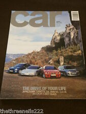 CAR MAGAZINE - THE DRIVE OF YOUR LIFE - JAN 2001