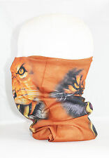 Multi use Biker Tiger Cycling Neck Tube Scarf Snood Face Mask Warm Bandana