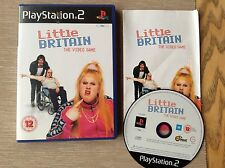 Little Britain Ps2 Game! Complete! Look At My Other Games!
