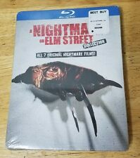 NEW GENUINE USA 5 BLU RAY A NIGHTMARE ON ELM STREET 7 FILM COLLECTION 1ST CLSS&H
