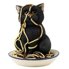 Comic & Curious Cats Spaghetti Head Figurine New Boxed A26178