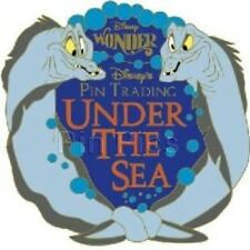 Disney Pin: Disney Cruise Line DCL Pin Trading Under the Sea Gift Pin #2 (EEL's)