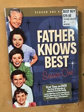 FATHER KNOWS BEST SEASON 1 New Sealed 4 DVD 26 Episodes