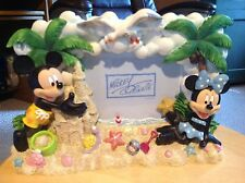 """Mickey and Minnie Mouse Frame, holds 3.5 x 5"""" picture.  Used, but good."""