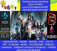 Double Amazon Fire Stick with KODI 16.1 Pulse Beast & FireLite & Mobdro, Aptoide