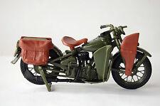 HARLEY DAVIDSON WLA WW2 MILITARY ARMY MAISTO MODEL MOTORCYCLE