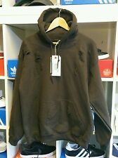Distressed ripped brown  hoodie by 9DEUCE  .Not lmdn Kanye yeezy L LARGE