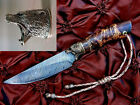Guard Messer Custom Knife Handle Making - 'Grizzly Bear's Head' - Silver, Bronze