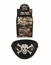 24x PIRATE EYE PATCHES Fancy Dress Captain Jack Party Costume Party Bag Filler