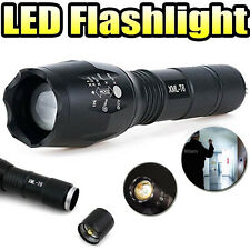 Zoomable 3800Lm Lumens LED Flashlight Hand Torch XML T6 Hiking Camping Light F