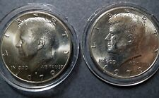 1979-P/D  Lot of 2  Vintage KENNEDY HALF DOLLARS, Philadelphia/Denver Mint Coins