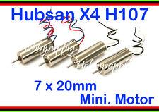 4pcs, 7 x 20mm moteur de rechange pour hubsan x4 led, walkera ladybird, V939 U816, 881