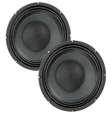 Pair Eminence Basslite S2010 10 inch Neo Bass Guitar PA Speaker 8 ohm Replacemnt
